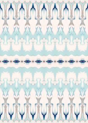 Ornamental Moroccan Abstract