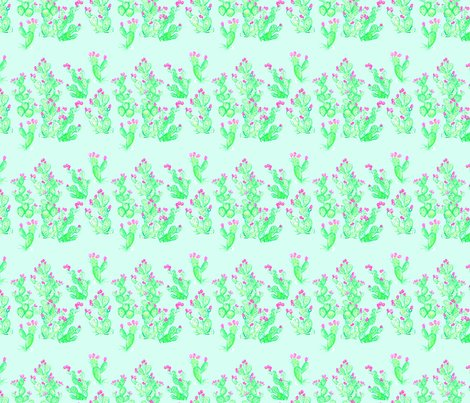 Rprickly_pear_spring_mint_fabric_shop_preview