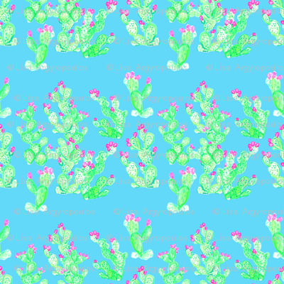 Prickly Pear Spring Turquoise