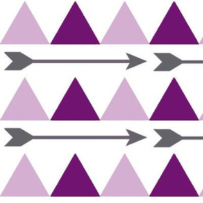 Purple Triangles and Arrows