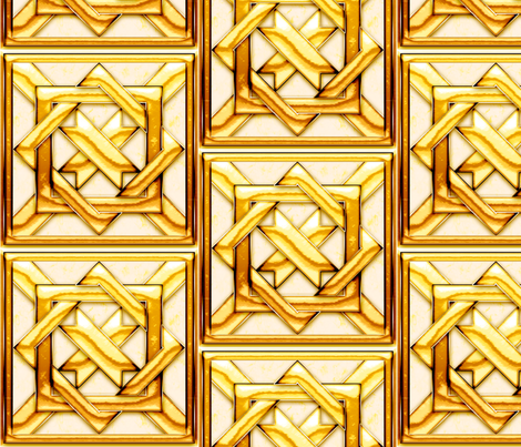 Marble Quilt Gold fabric by stradling_designs on Spoonflower - custom fabric