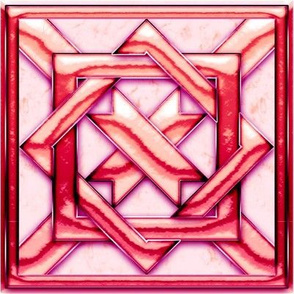 Marble Quilt Pink