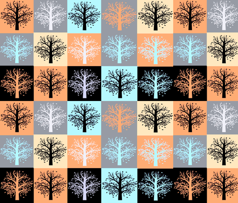 Changing Lives fabric by winterblossom on Spoonflower - custom fabric