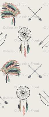 Dreamcatcher headdress // charlotte