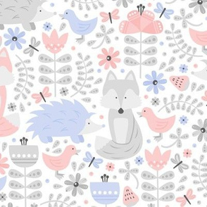 Fox Forest (Rose Quartz and Serenity)