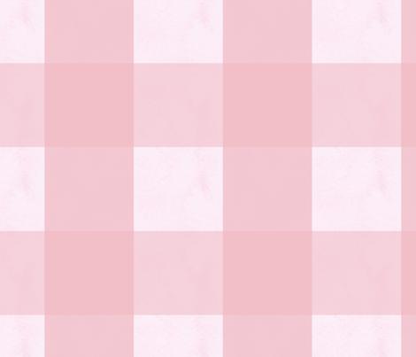 Pink Gingham fabric by mariden on Spoonflower - custom fabric