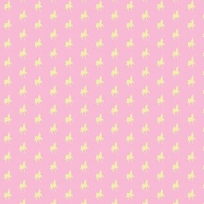 Ditsy (Yellow-Pink)