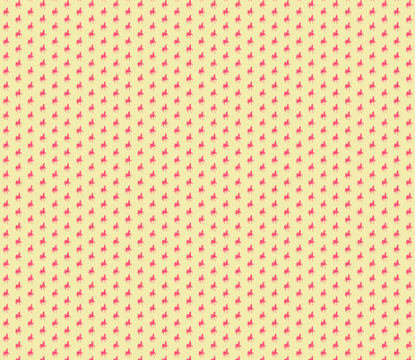 small ASB yellow-BUBBLEGUM fabric by redmares on Spoonflower - custom fabric