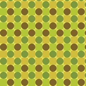 Green Dots & Squares
