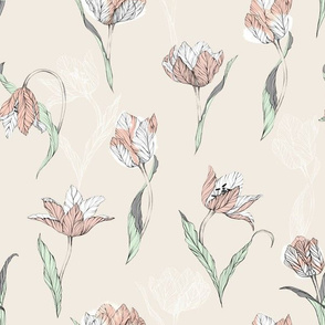 tulips_on_beige