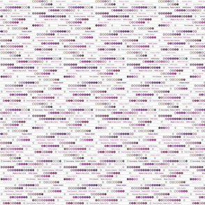 Selvedge Fabric - Purple - Small