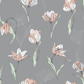 tulips_on_grey