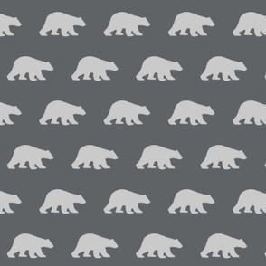 Bear in Charcoal