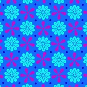 Peoria Ice Flowers - Dancing Aurora