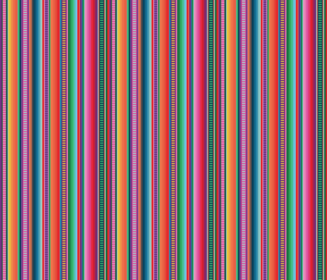 Mexican Blanket fabric by anchored_by_love on Spoonflower - custom fabric