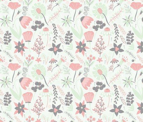 Wildflower_pattern_grey_cream_cucumber_pink_shop_preview