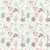 Wildflower_pattern_grey_cream_cucumber_pink_shop_thumb