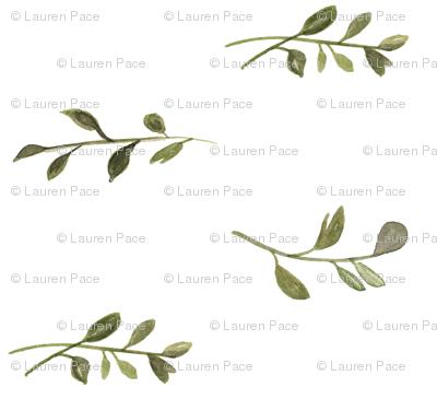 Vines (white background)