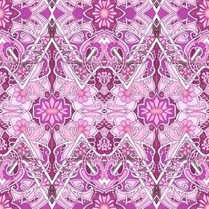Pink Art Nouveau Feminine Junk
