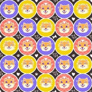 Shiba Inu Dots