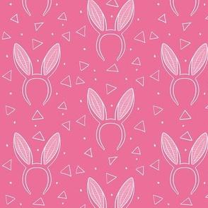 Bunny ears on raspberry