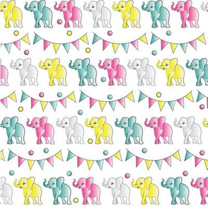 Elephantastic Party Print