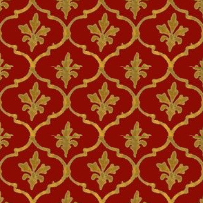 Golden Tile Red