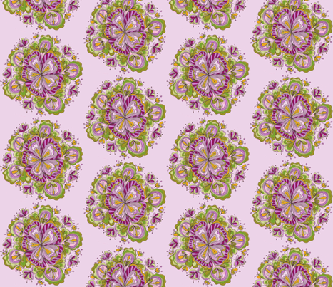 Blossoming fabric by unclemamma on Spoonflower - custom fabric