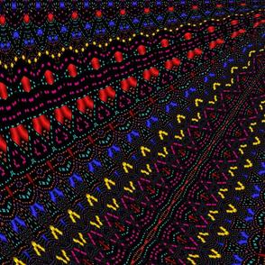 Caleidoscop black 42x36 innches