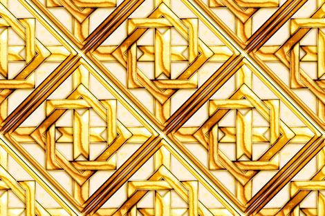 "Marble_Quilt_Gold_Diagonal 27"" fabric by stradling_designs on Spoonflower - custom fabric"