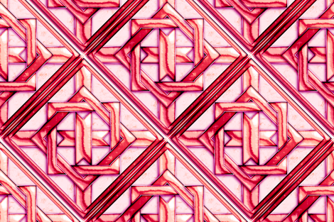 "Marble Quilt Pink Diagonal 27"" fabric by stradling_designs on Spoonflower - custom fabric"