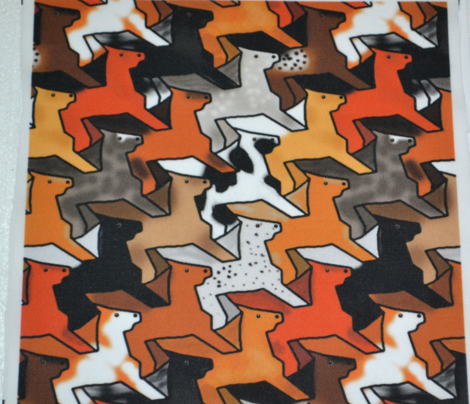 Tessellating Horse Herd