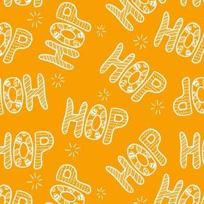 HOP on orange