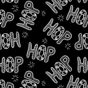 HOP on black