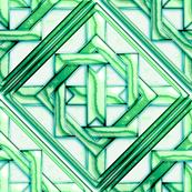 """Marble Quilt Teal Diagonal 18"""""""