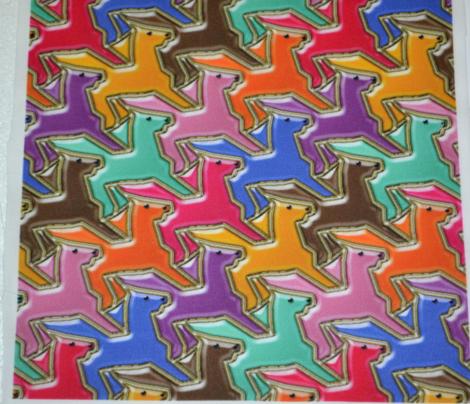 Tesselating Cloissone Horses