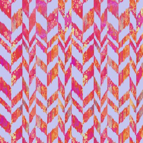 Corfee-ziggikat-TILE-SPoonflower fabric by stephaniecorfee on Spoonflower - custom fabric