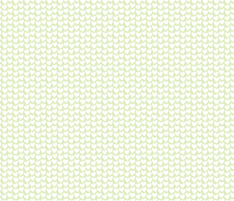 Little hearts fabric by luzpaucar on Spoonflower - custom fabric