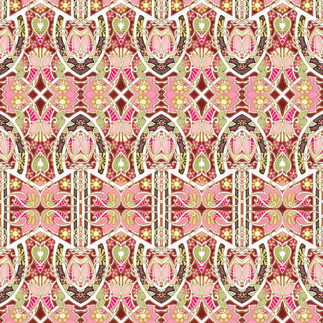 Country Afternoons fabric by edsel2084 on Spoonflower - custom fabric