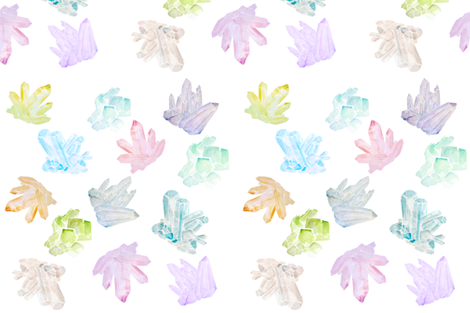 Crystal_collection fabric by jennifer_rizzo on Spoonflower - custom fabric