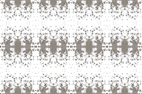 Gray_ paint_dots fabric by jennifer_rizzo on Spoonflower - custom fabric