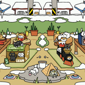 Neko Atsume Winter