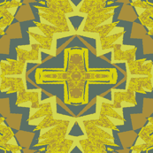 bear ornament yellow