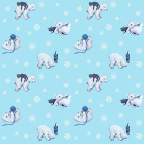 Bear & Kitten