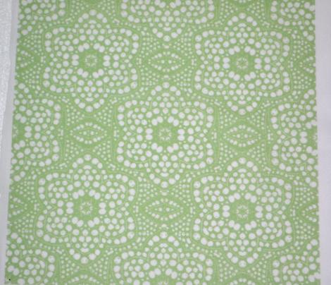 Light Green Dot Bloom