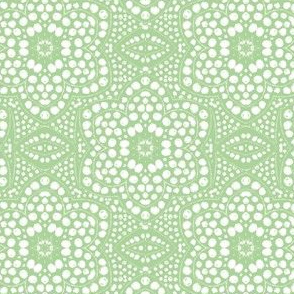 Light Green Dot Bloom