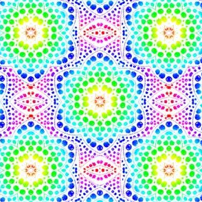 Rainbow Dot Bloom