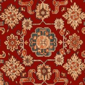 Persian Ponies Red