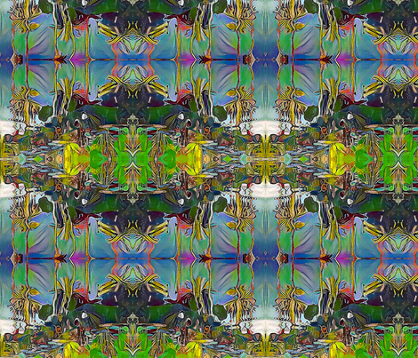 Lily Pads fabric by ciswee on Spoonflower - custom fabric