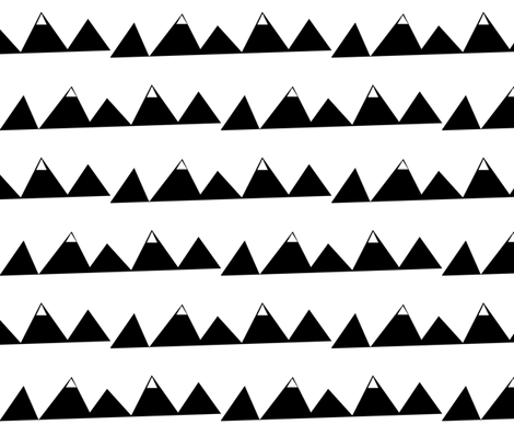mountain_range fabric by buckwoodsdesignco on Spoonflower - custom fabric